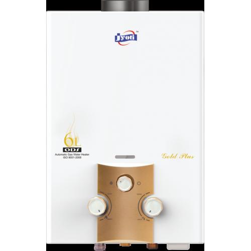 Jyoti Gold Plus (Low Pressure) Gas Geyser - 6 Ltr